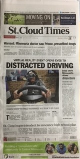Image of St. Cloud Times Newspaper